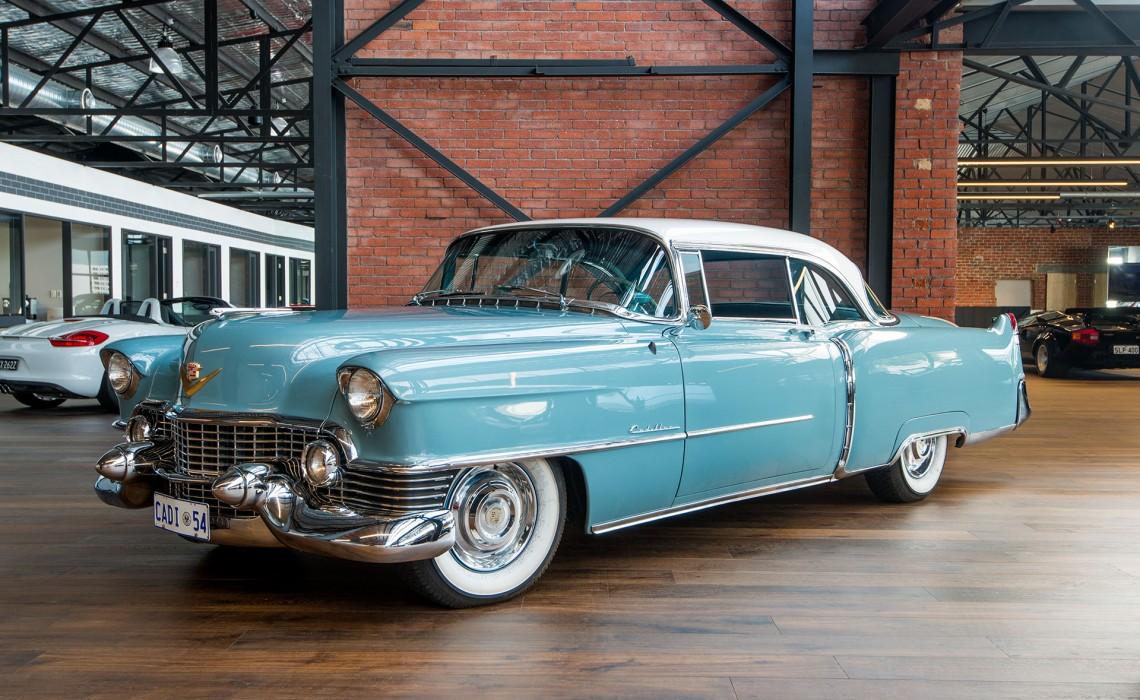 Classic Porsche For Sale >> 1954 Cadillac Coupe De Ville - Richmonds - Classic and Prestige Cars - Storage and Sales ...