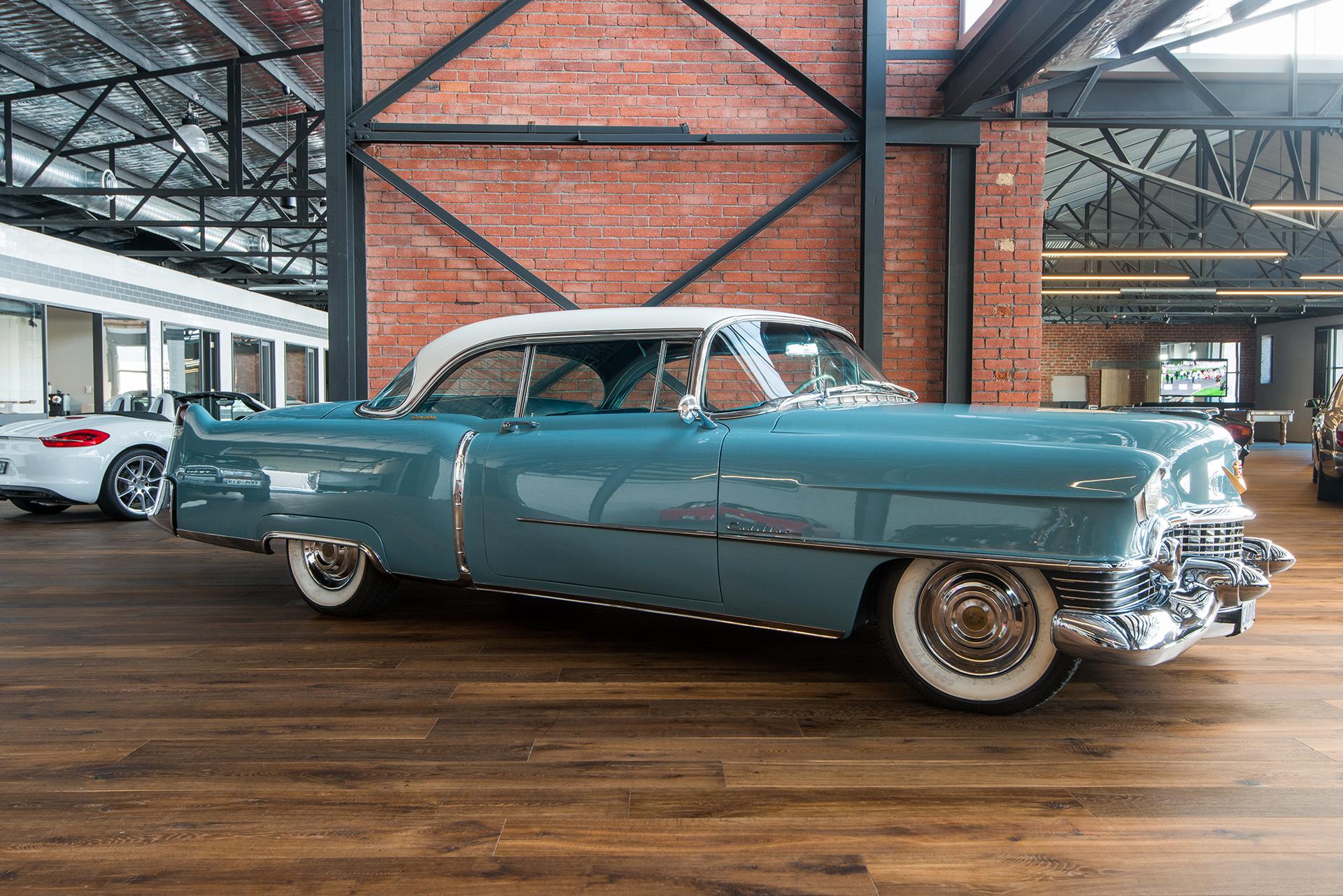 Cadillac Coupe Deville Blue