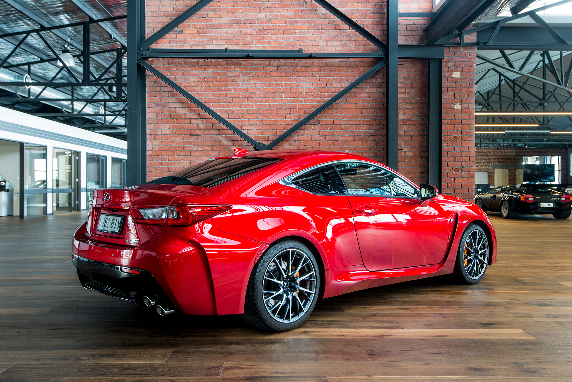Car Exhaust System >> 2016 Lexus RCF Coupe - Richmonds - Classic and Prestige ...