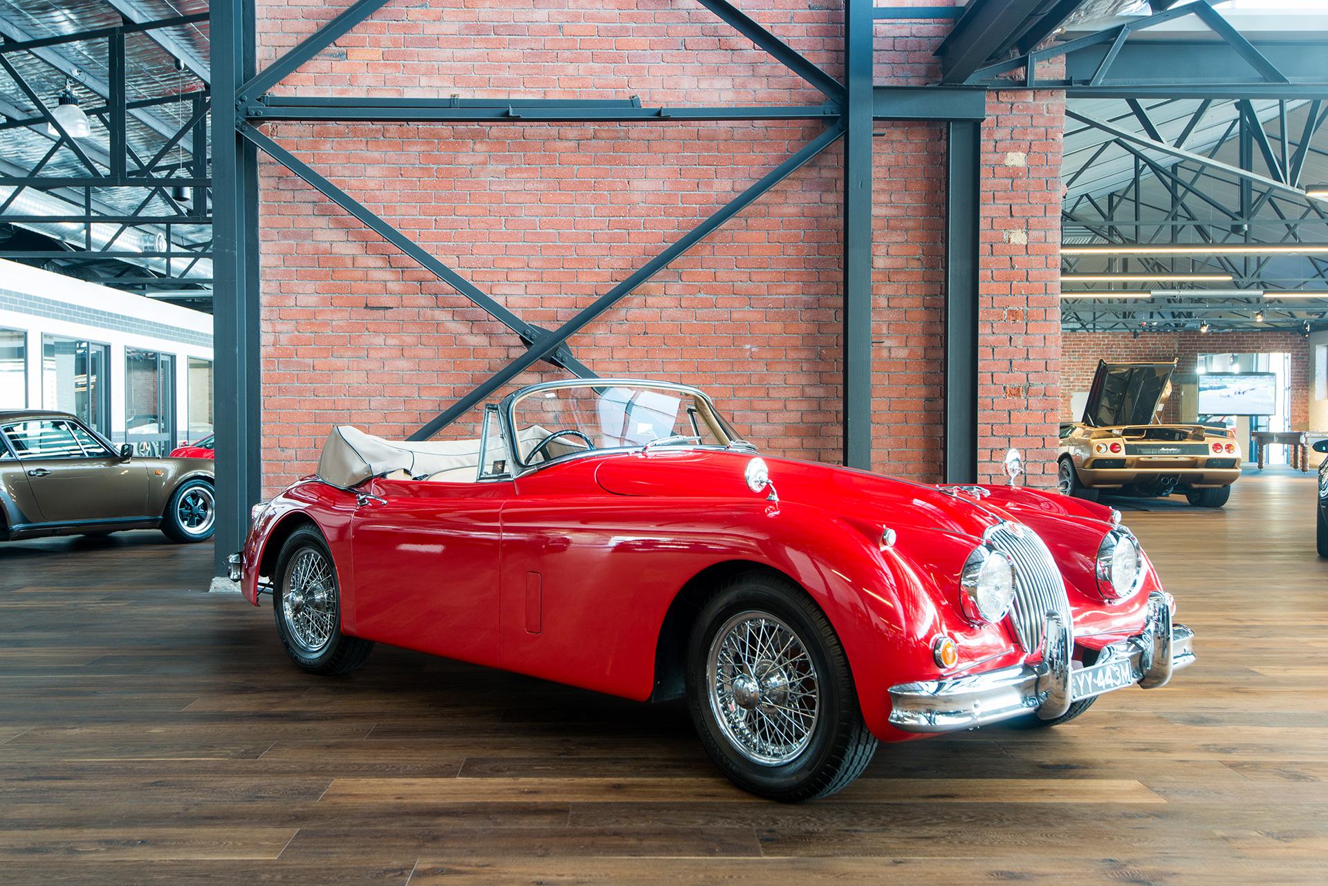 Jaguar Xk150 Dhc Richmonds Classic And Prestige Cars