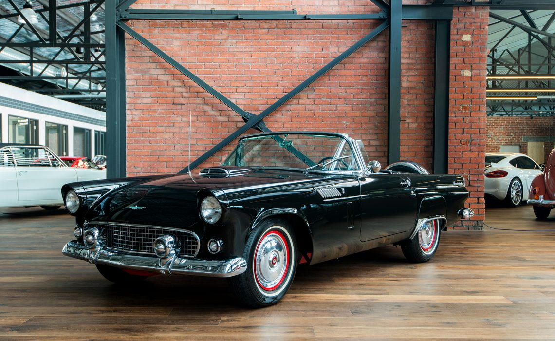 1956 Ford Thunderbird black