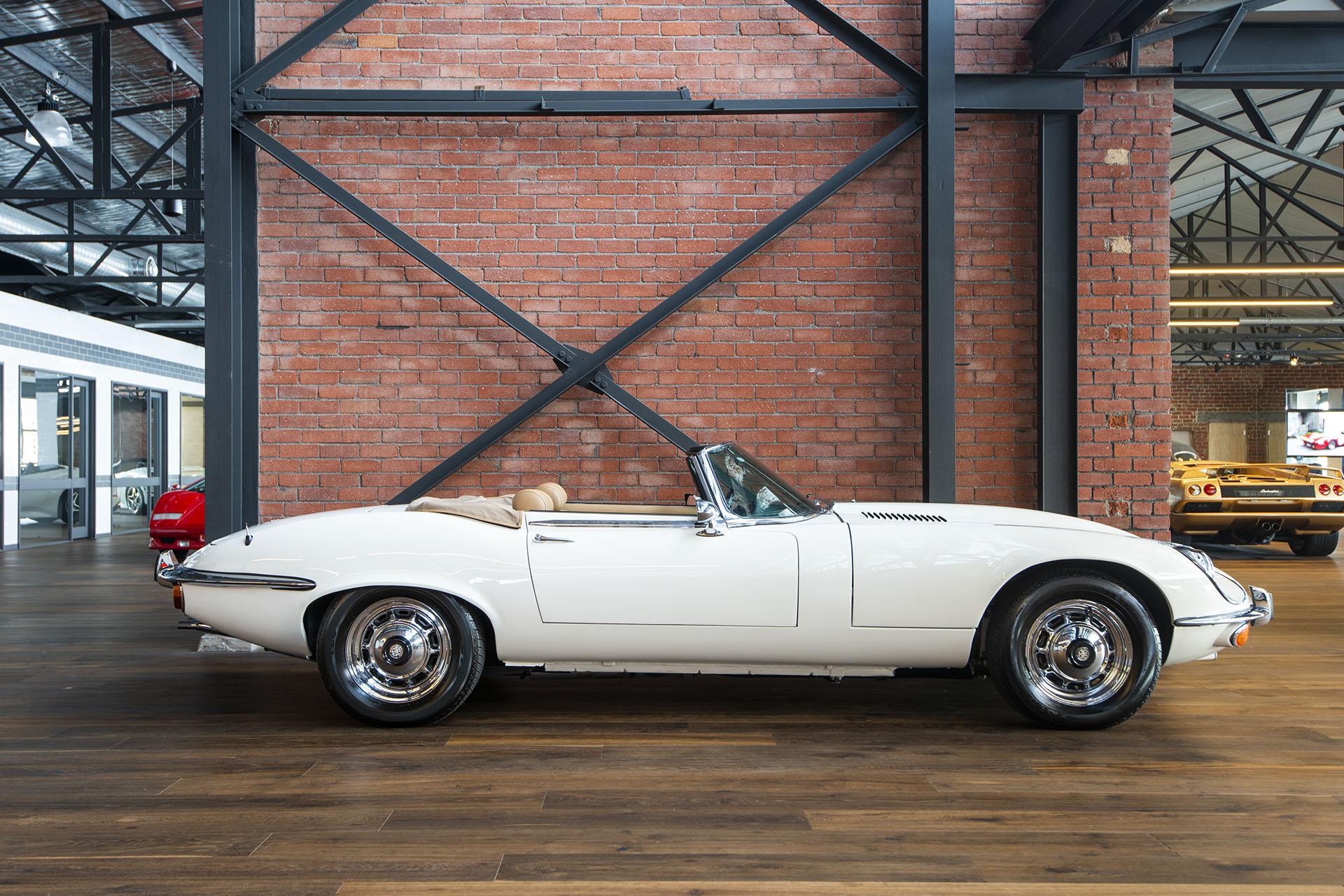 Jaguar E Type For Sale >> 1974 Jaguar E Type Series 3 V12 - Richmonds - Classic and Prestige Cars - Storage and Sales ...