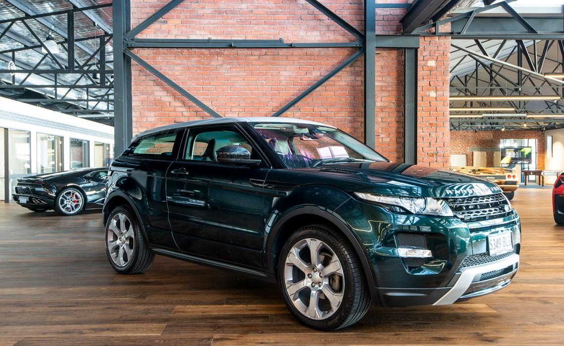 2014 Range Rover Evoque SD4 Coupe