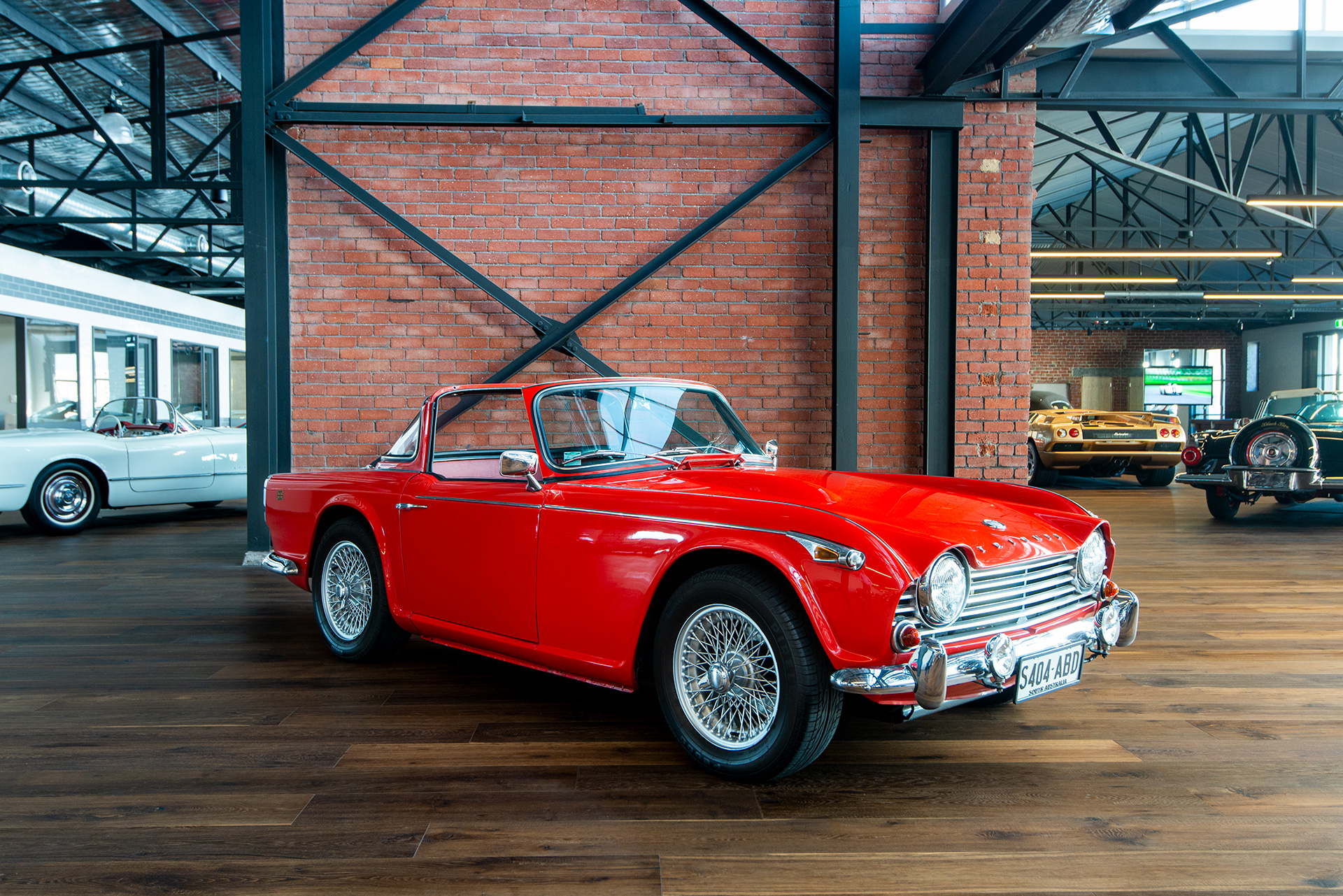 1965 Triumph Tr4a Irs Richmonds Classic And Prestige Cars
