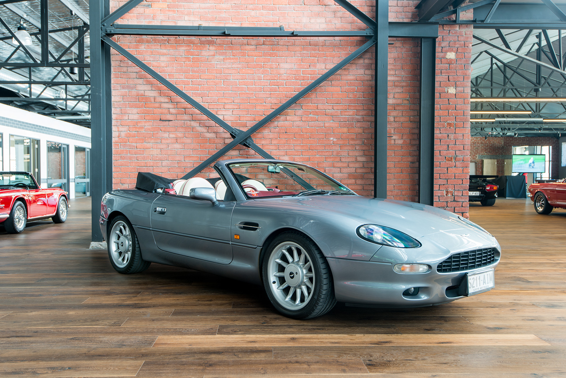 1998 aston martin db7 volante - richmonds - classic and prestige