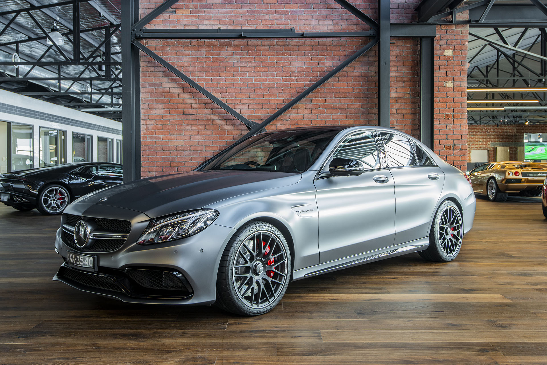 Mercedes Benz Amg >> 2017 Mercedes C63S AMG - Richmonds - Classic and Prestige Cars - Storage and Sales - Adelaide ...