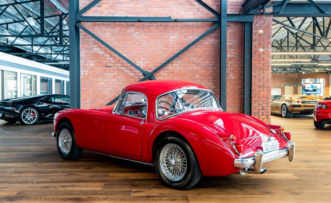 1960 MGA 1600 Mk1 Coupe