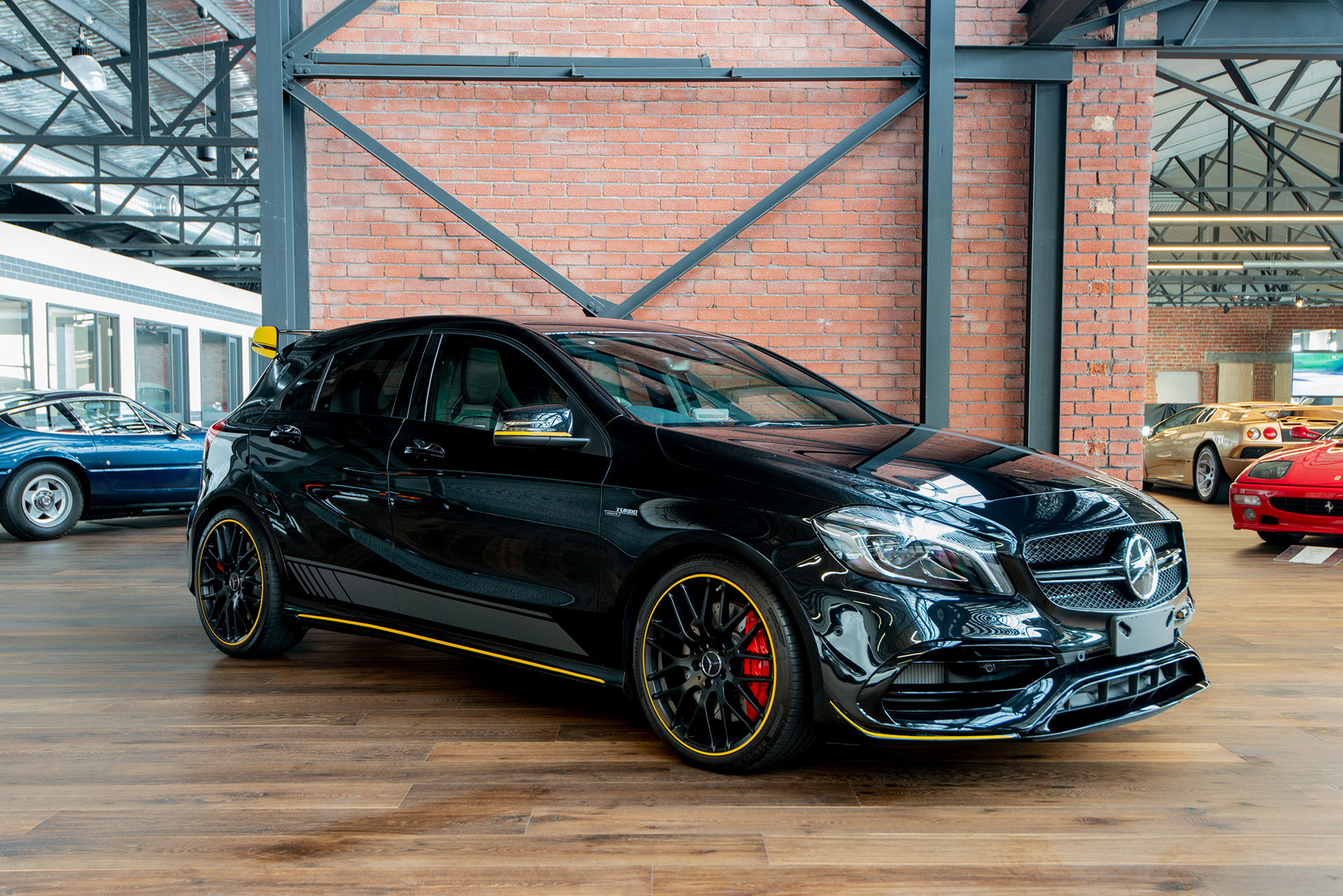 2017 mercedes benz a45 amg richmonds classic and prestige cars storage and sales. Black Bedroom Furniture Sets. Home Design Ideas