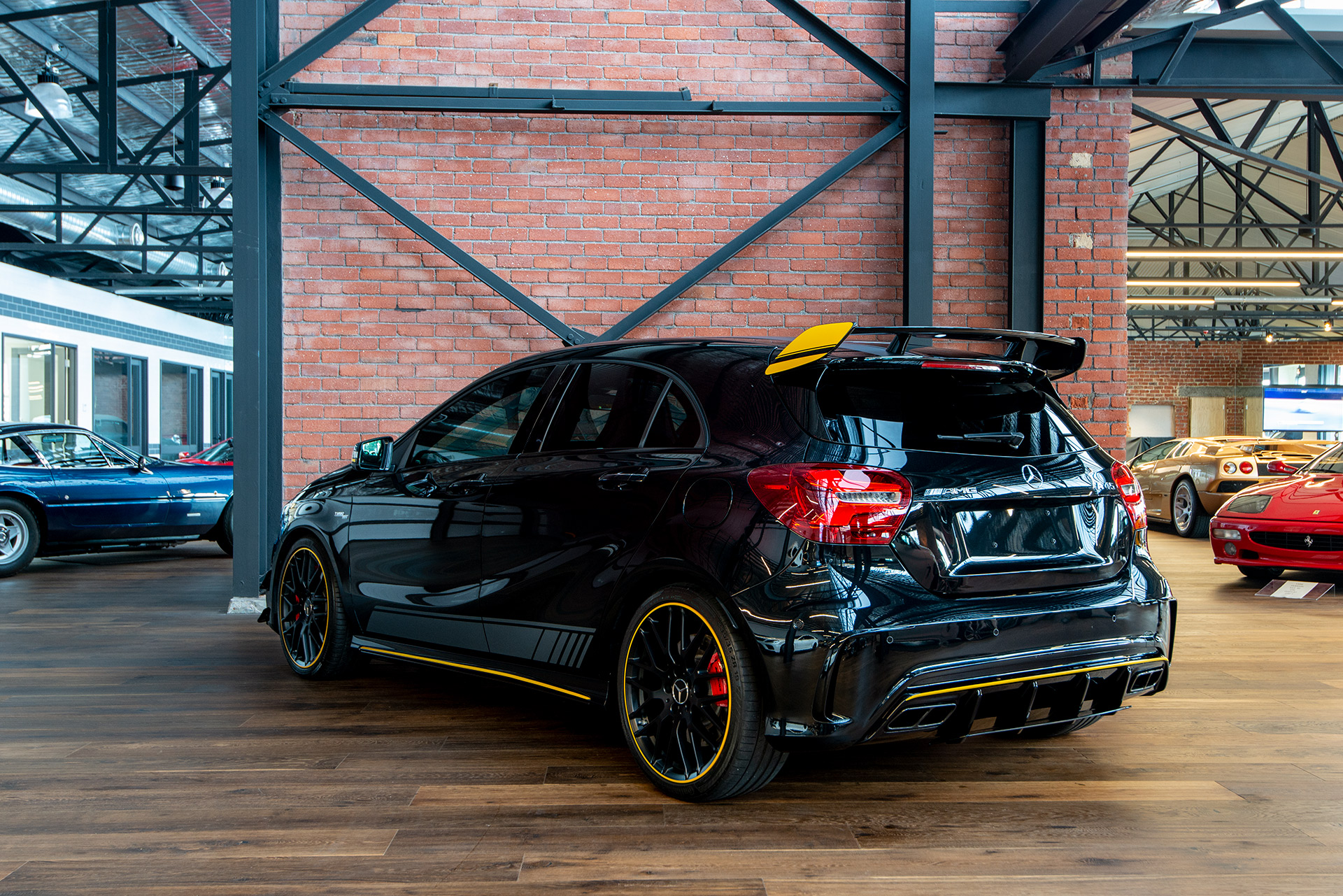 Front Wheel Drive Cars >> 2017 Mercedes-Benz A45 AMG - Richmonds - Classic and ...