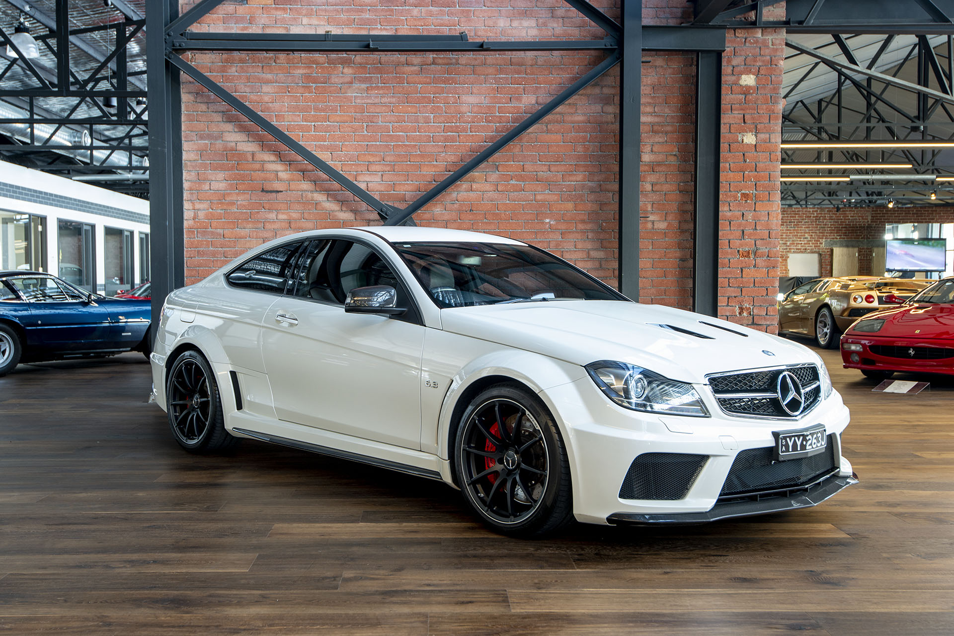 2012 mercedes benz c63 amg black series richmonds classic and prestige cars storage and. Black Bedroom Furniture Sets. Home Design Ideas