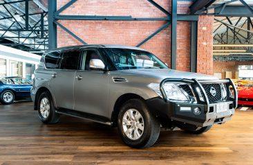 2013 Nissan Patrol Y62 Ti Wagon