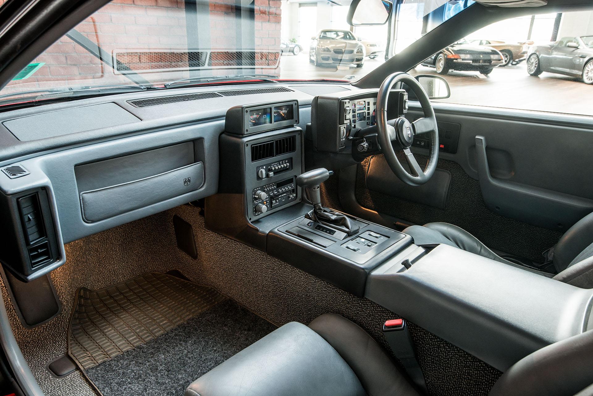 Pontiac Fiero Red 16 Richmonds Classic And Prestige Cars Console