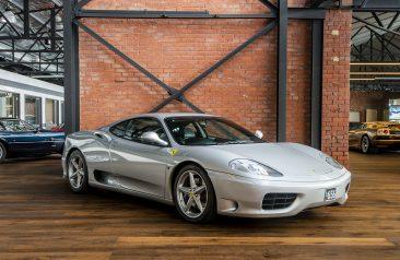 2002 Ferrari F360 Modena F1 Coupe