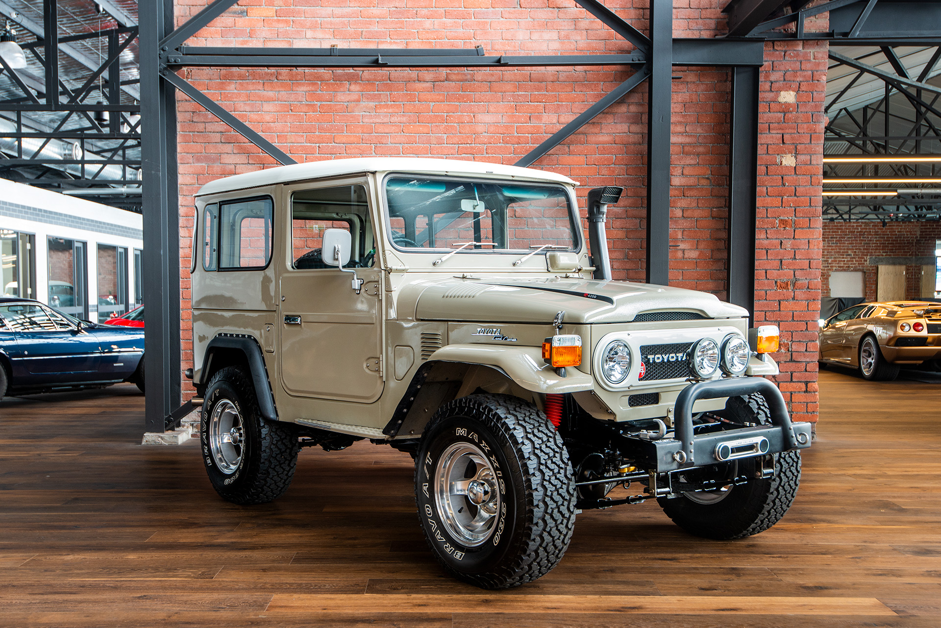 1977 Toyota Land Cruiser FJ40 Hardtop - Richmonds ...