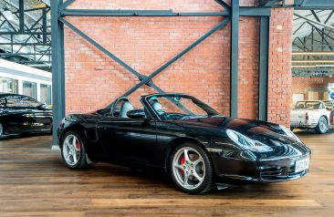 2004 Porsche Boxster S Manual