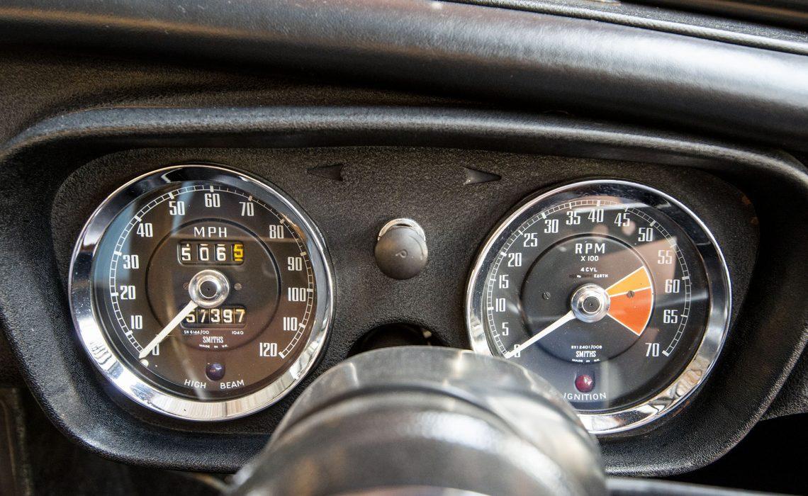 1967 MGB Roadster manual
