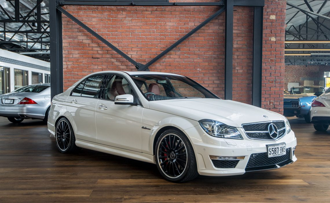 2012 Mercedes Benz C63 AMG Performance Package Plus