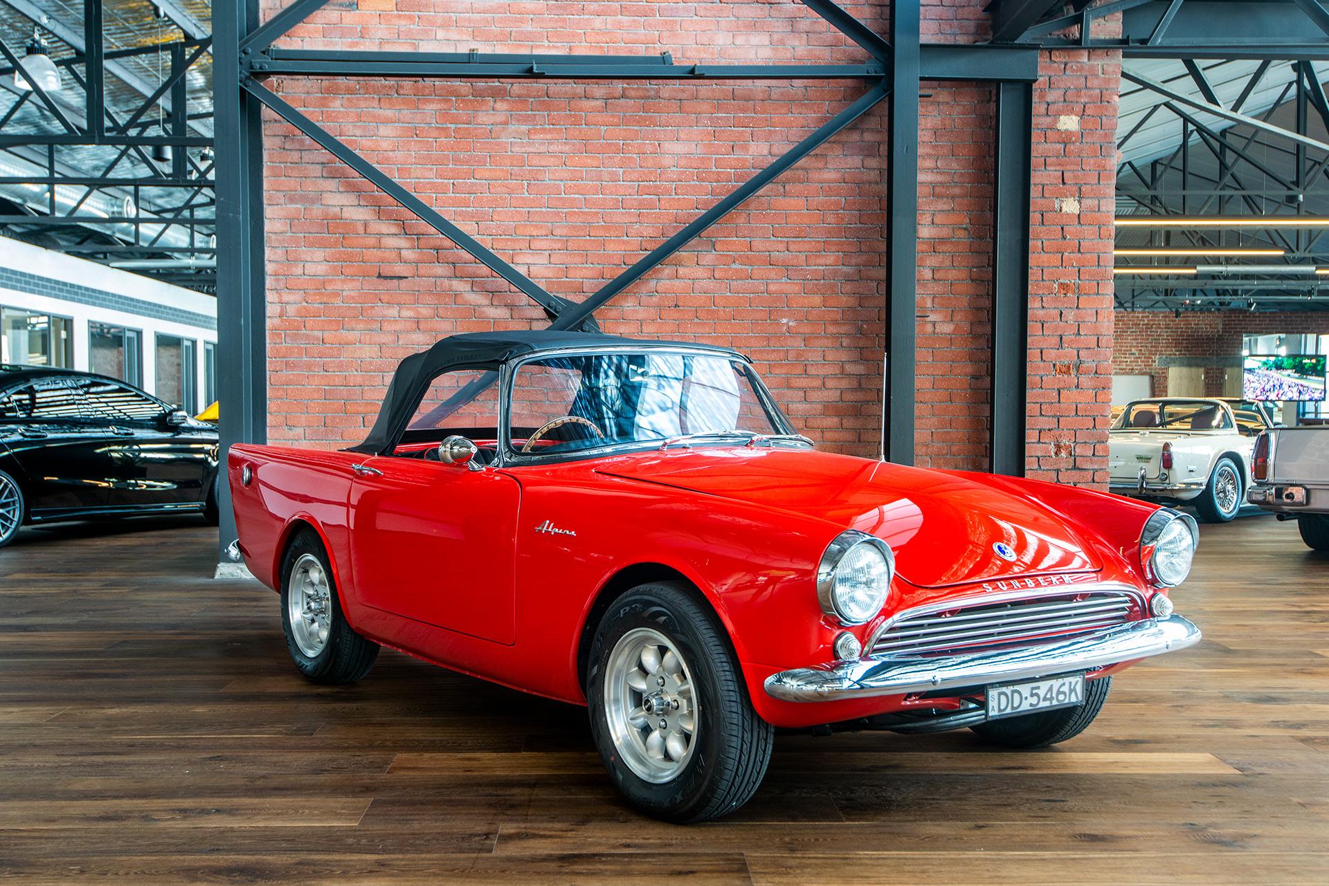 1962 Sunbeam Alpine Roadster Richmonds Classic And Prestige Cars