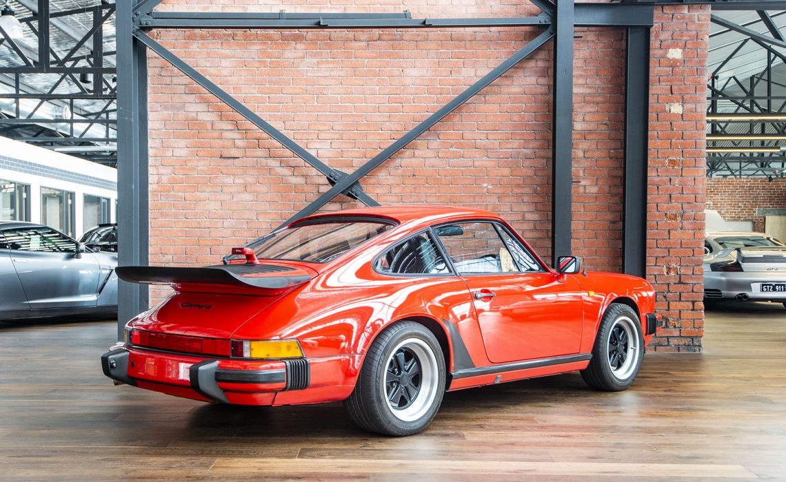 Electric Car For Sale >> 1988 Porsche 911 Carrera - Richmonds - Classic and Prestige Cars - Storage and Sales - Adelaide ...