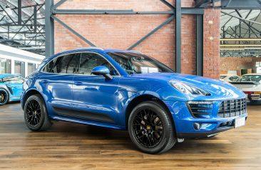 2014 Porsche Macan S Blue Diesel