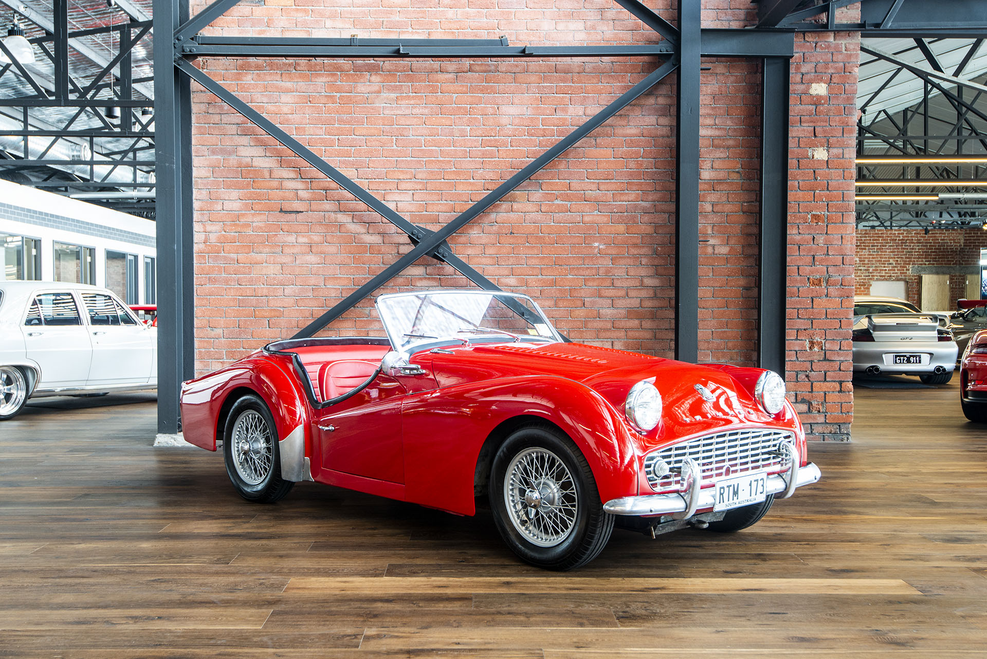 1958 Triumph Tr3a Roadster Richmonds Classic And Prestige Cars