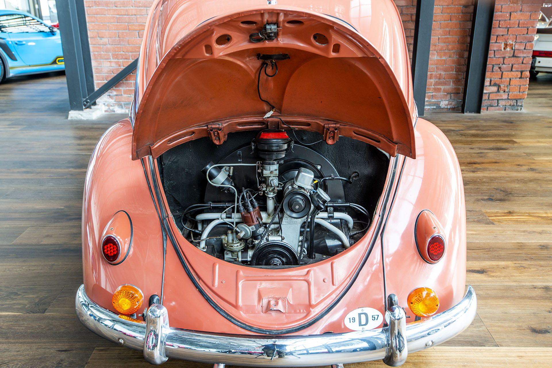 1957 Volkswagen Beetle Oval Window - Richmonds - Classic and Prestige Cars - Storage and Sales ...