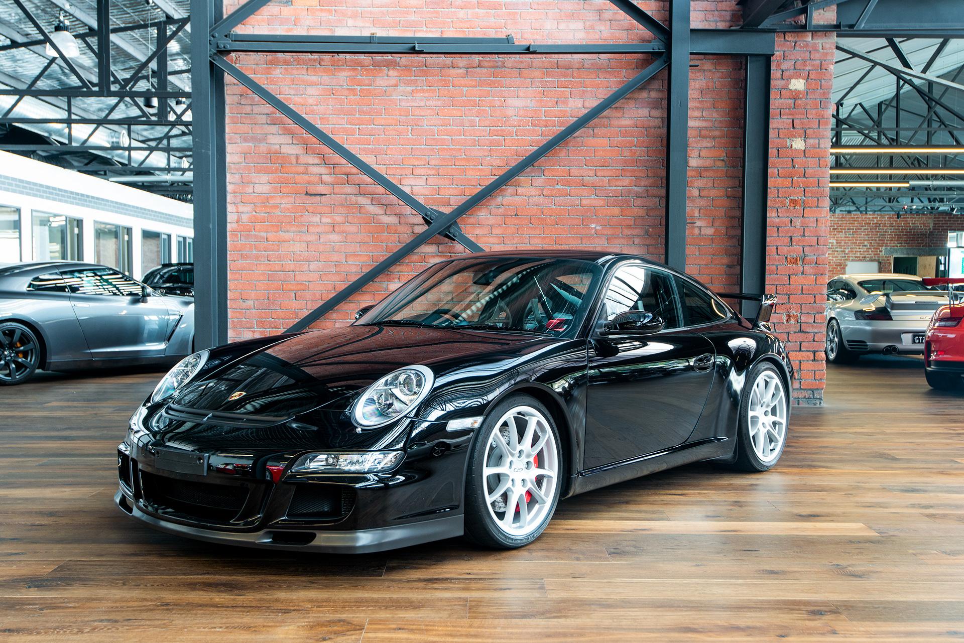 2007 911 997 Gt3 Black Richmonds Classic And Prestige Cars Storage And Sales Adelaide Australia