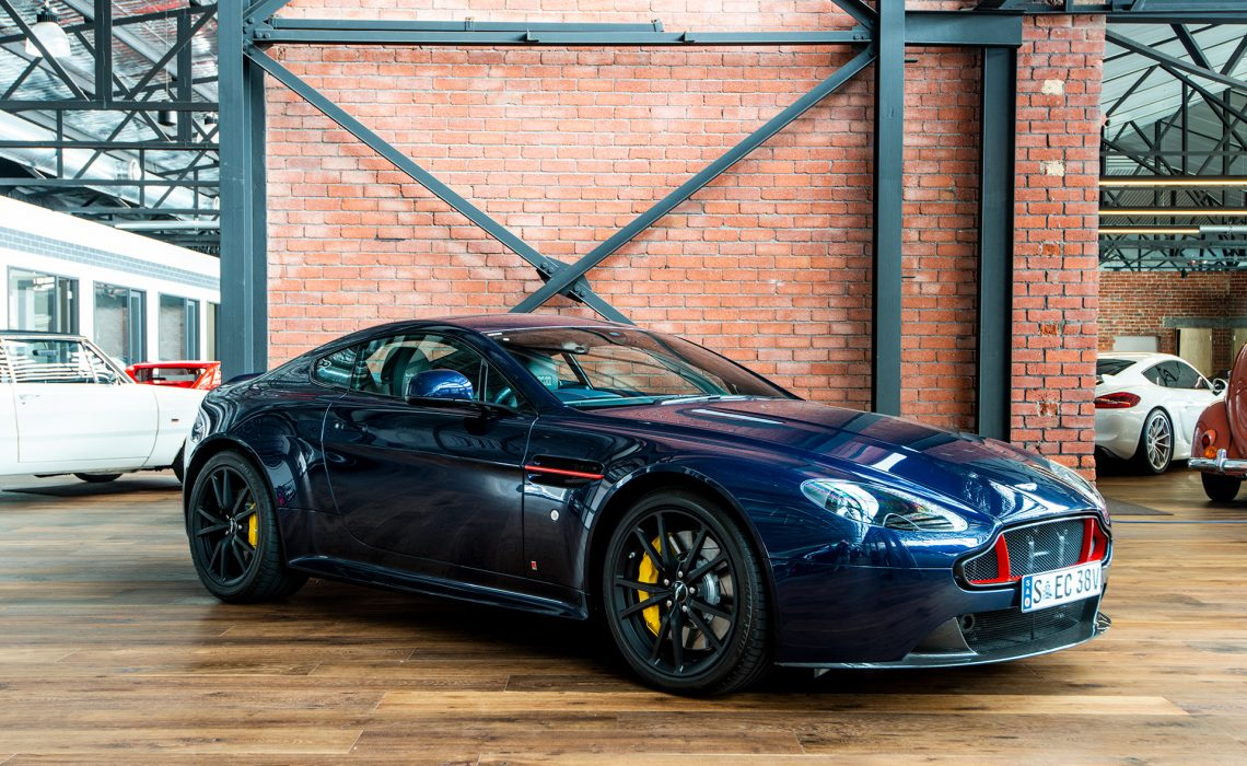 Aston Martin Vantage S Red Bull Yellow