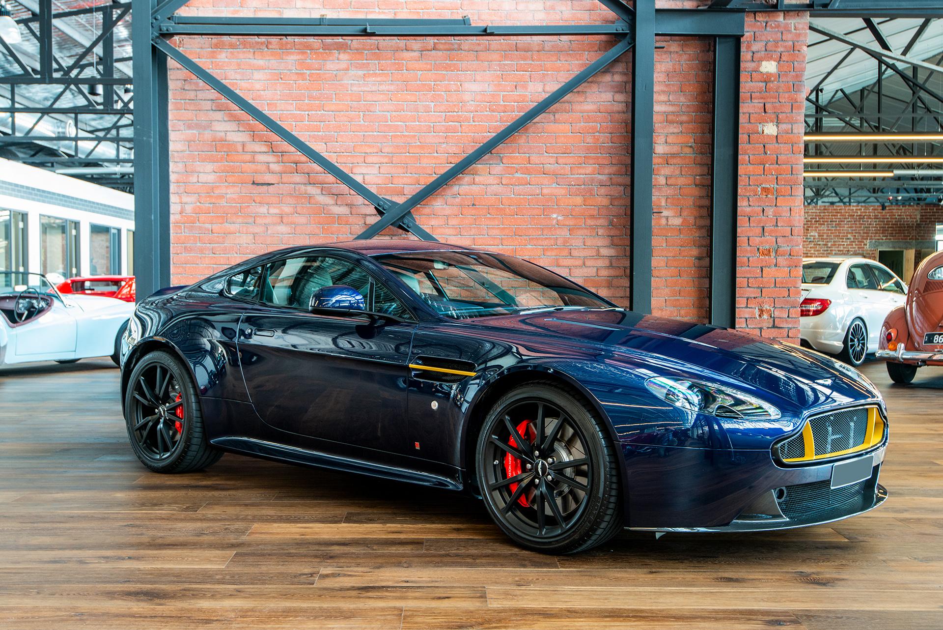 2017 Aston Martin V8 Vantage S Red Bull Richmonds Classic And Prestige Cars Storage And Sales Adelaide Australia