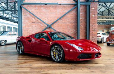 2017 Ferrari 488 Spider Rosso Mugello