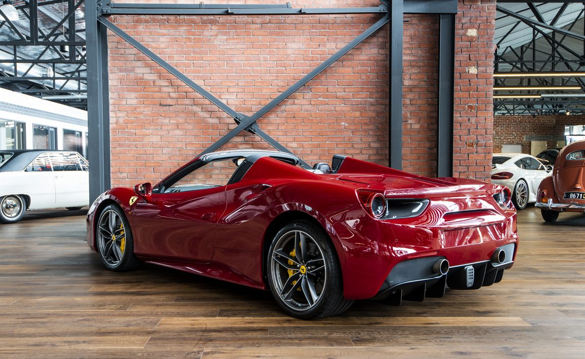 2017 Ferrari 488 Spider - Richmonds