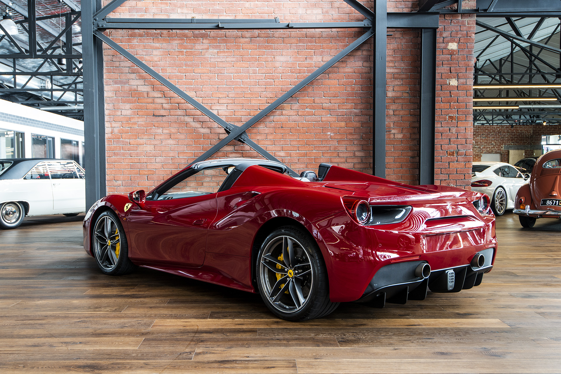 2017 Ferrari 488 Spider Richmonds Classic And Prestige Cars Storage And Sales Adelaide Australia