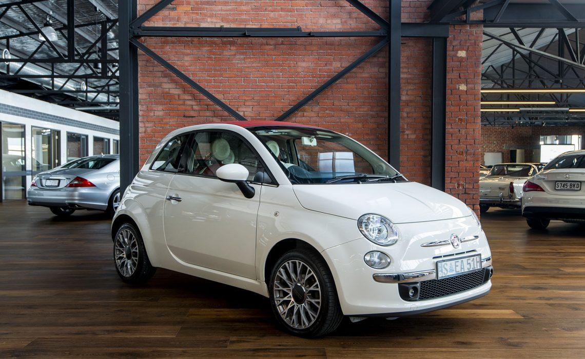 2010 Fiat 500c white