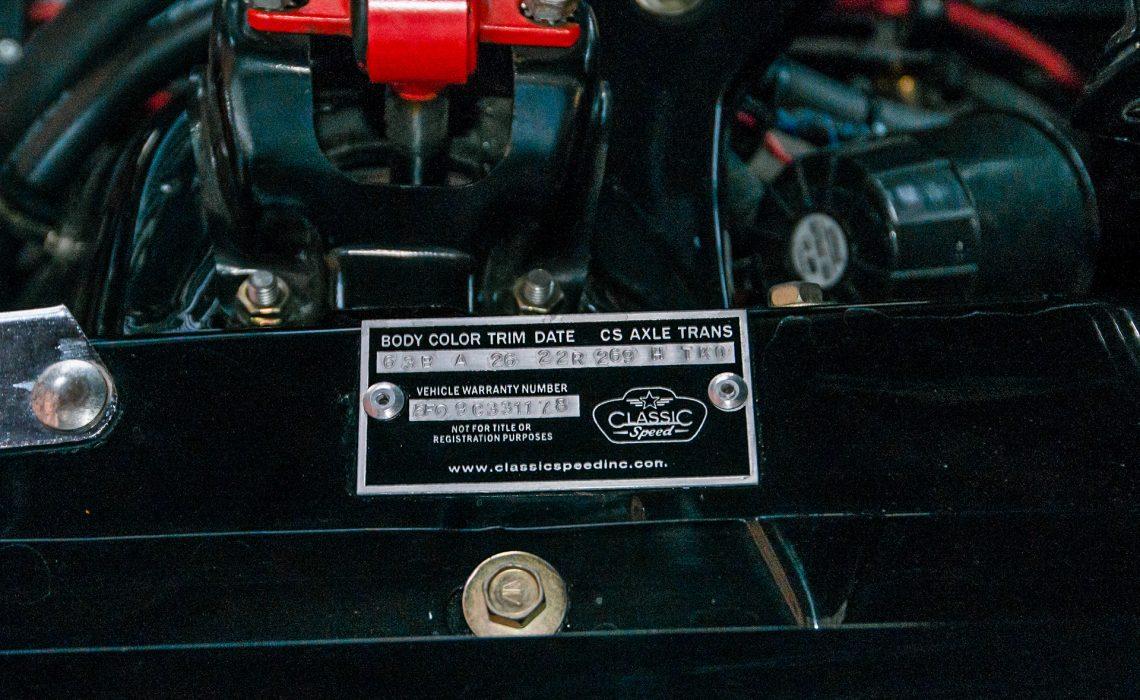 Shelby mustang gt350 replica