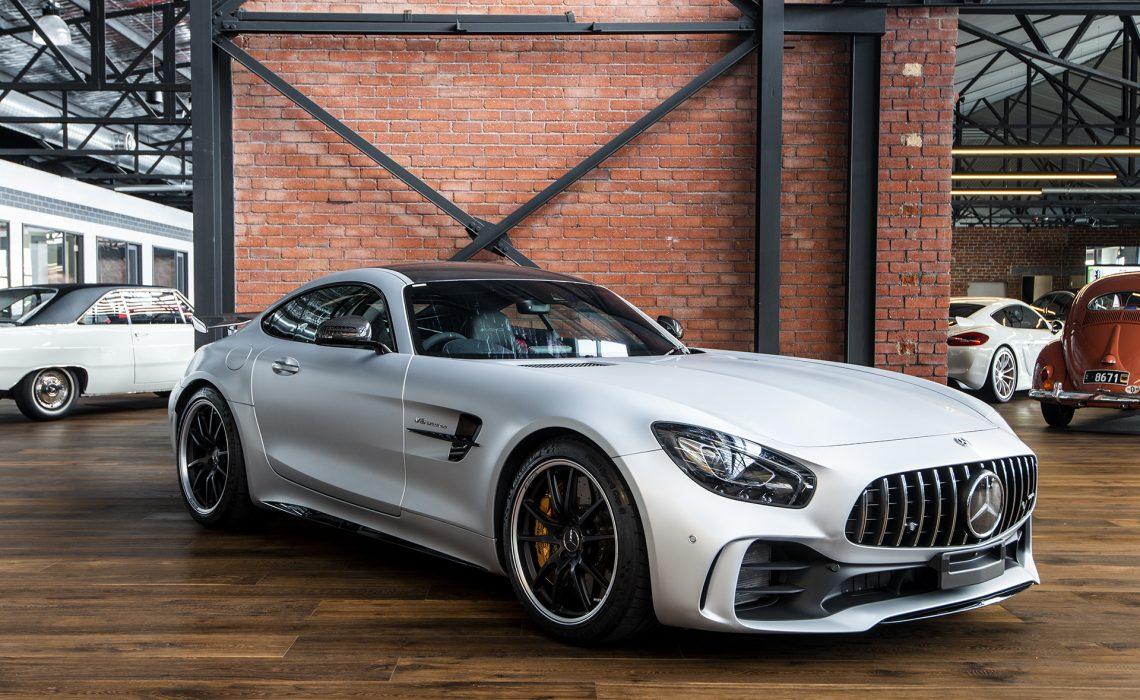 2017 Mercedes AMG GT-R Silver