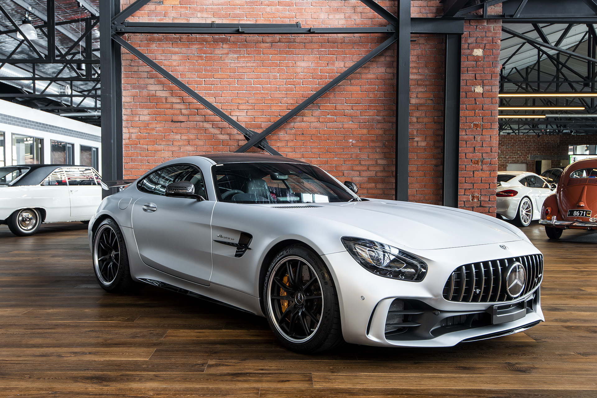 2017 mercedes benz amg gt r richmonds classic and prestige cars storage and sales. Black Bedroom Furniture Sets. Home Design Ideas