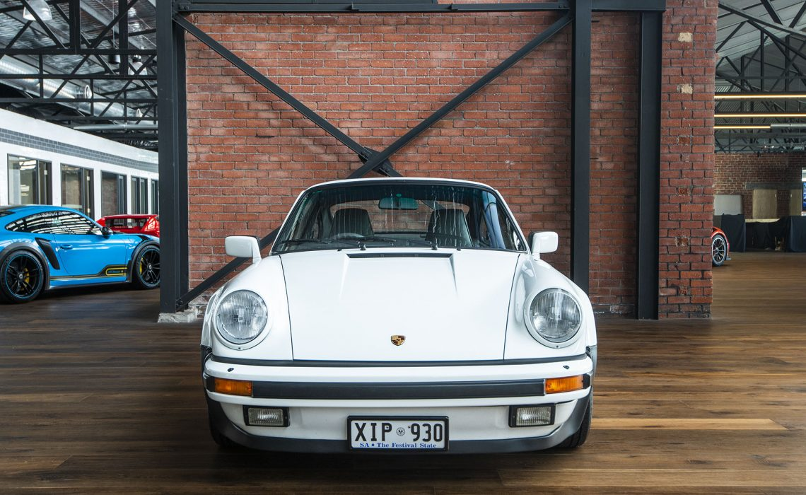 1985 Porsche 930 Turbo White