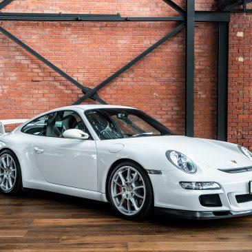 Porsche 911 997 GT3 White