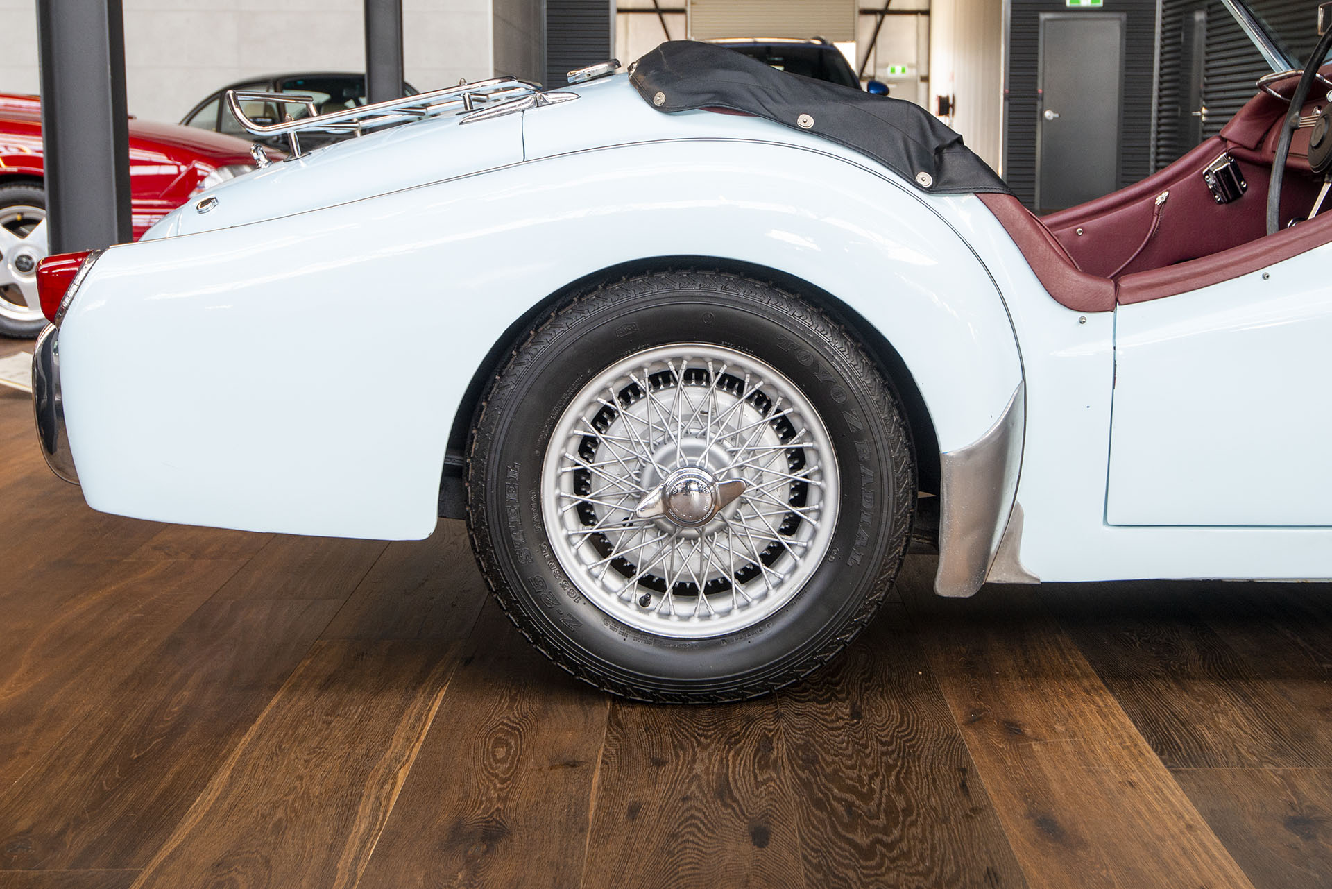 Most Affordable Sports Cars >> 1953 Triumph TR3 Manual - Richmonds - Classic and Prestige Cars - Storage and Sales - Adelaide ...