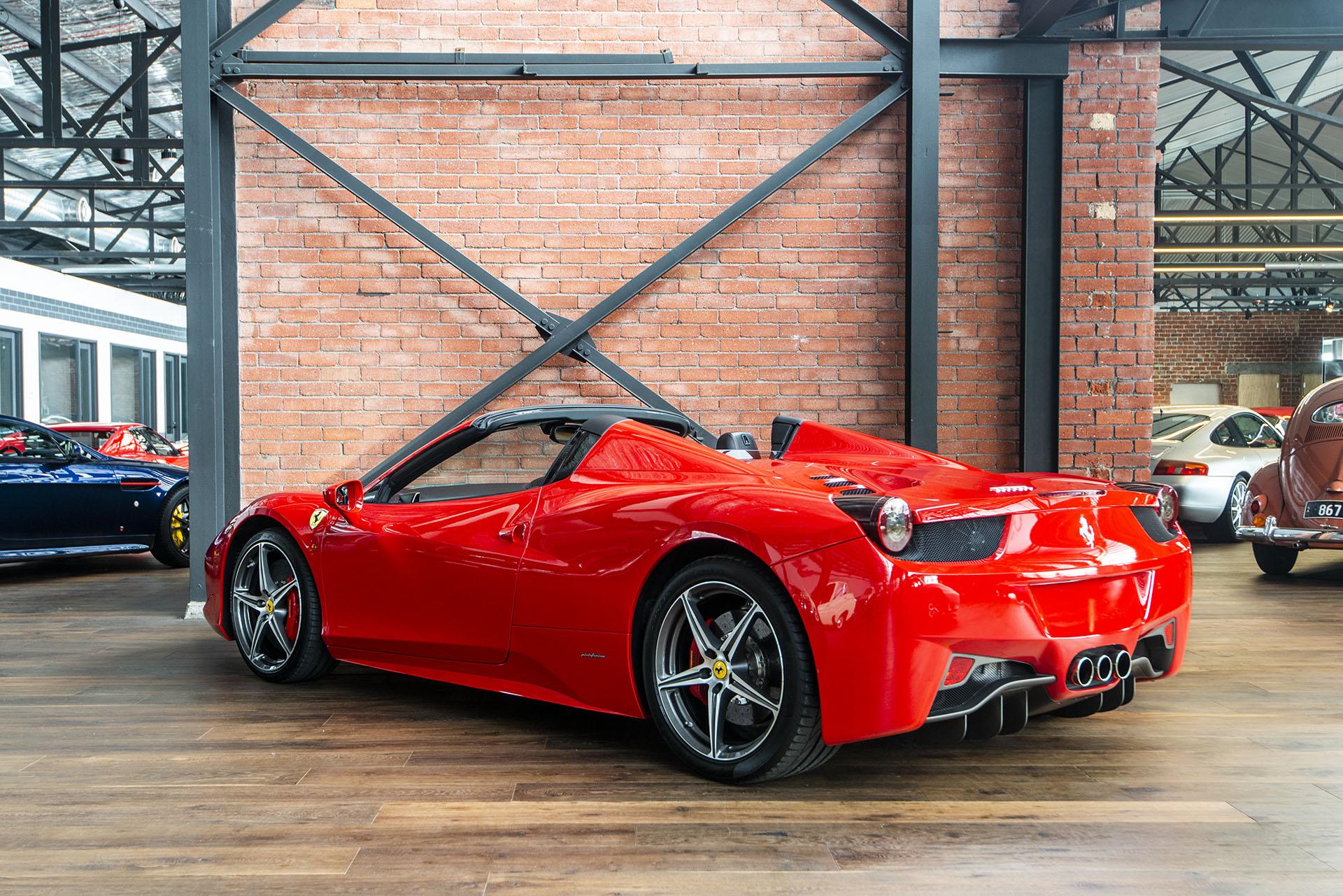2013 Ferrari 458 Spider - Richmonds - Classic and Prestige ...  Ferrari 458 Spider Red