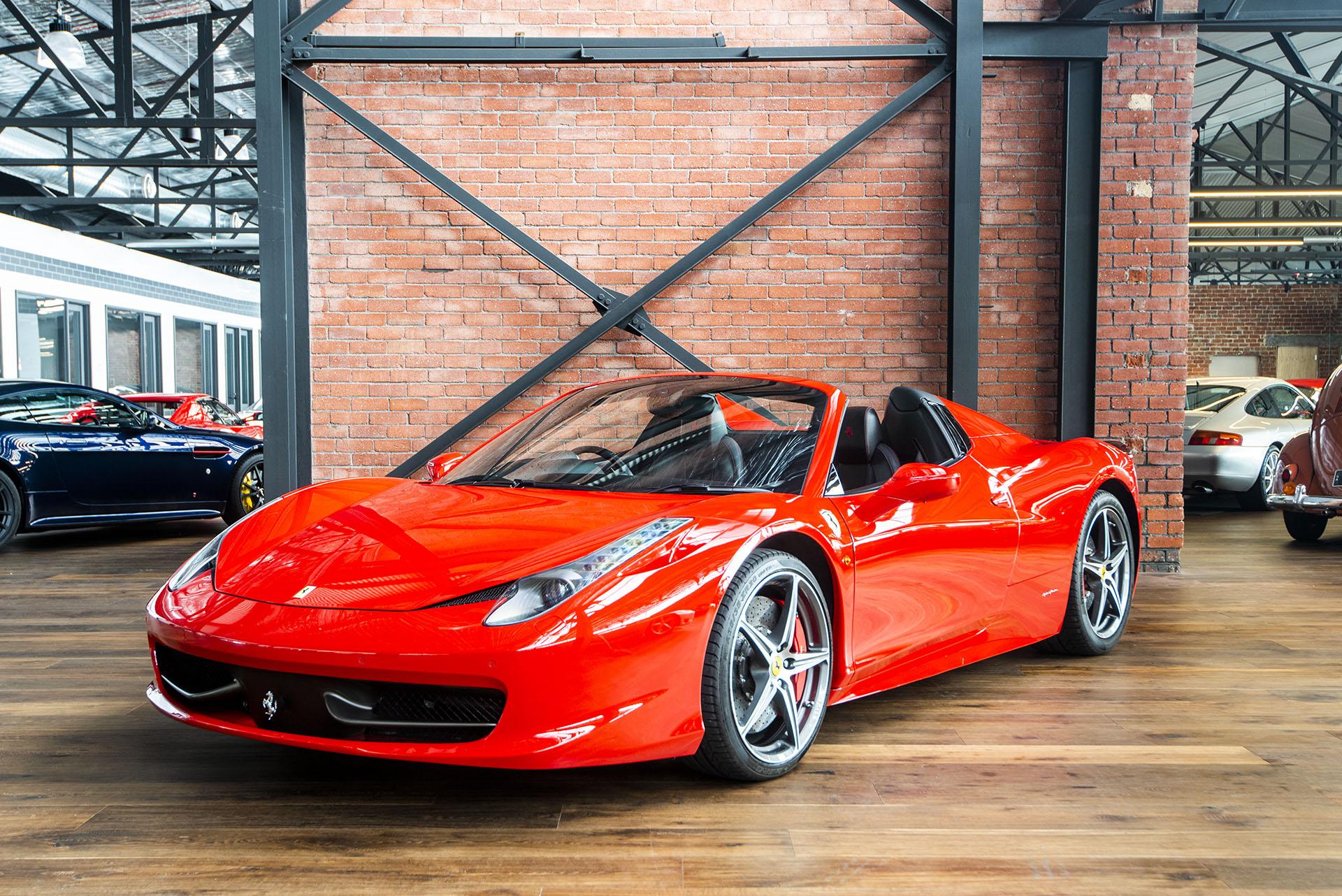 Ferrari 458 Spider For Sale >> 2013 Ferrari 458 Spider - Richmonds - Classic and Prestige ...