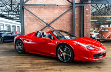 2013 Ferrari 458 Spider Red
