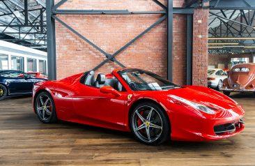 2013 Ferrari 458 Spider Red