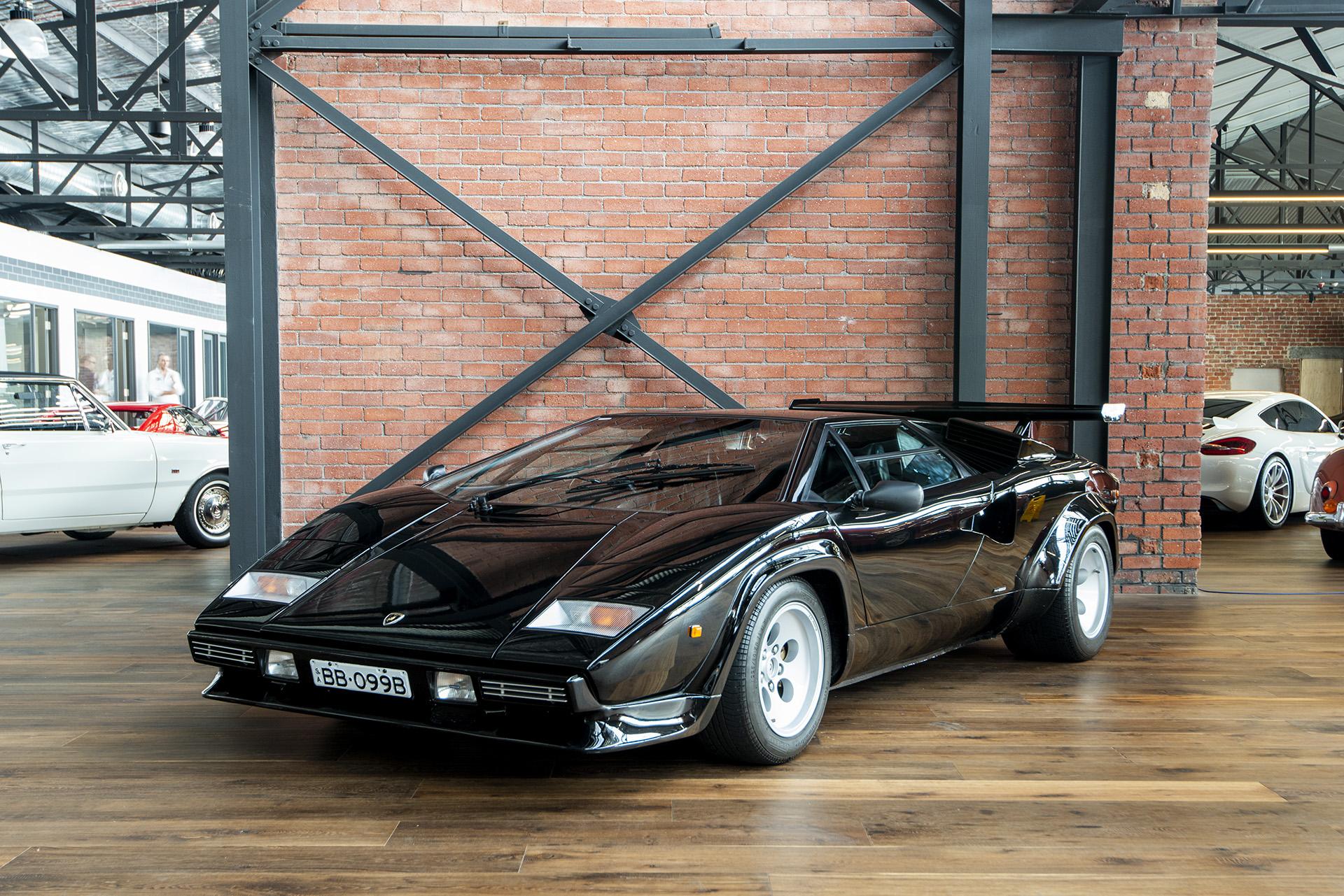 1985 Lamborghini Countach Qv5000 Black Richmonds Classic And