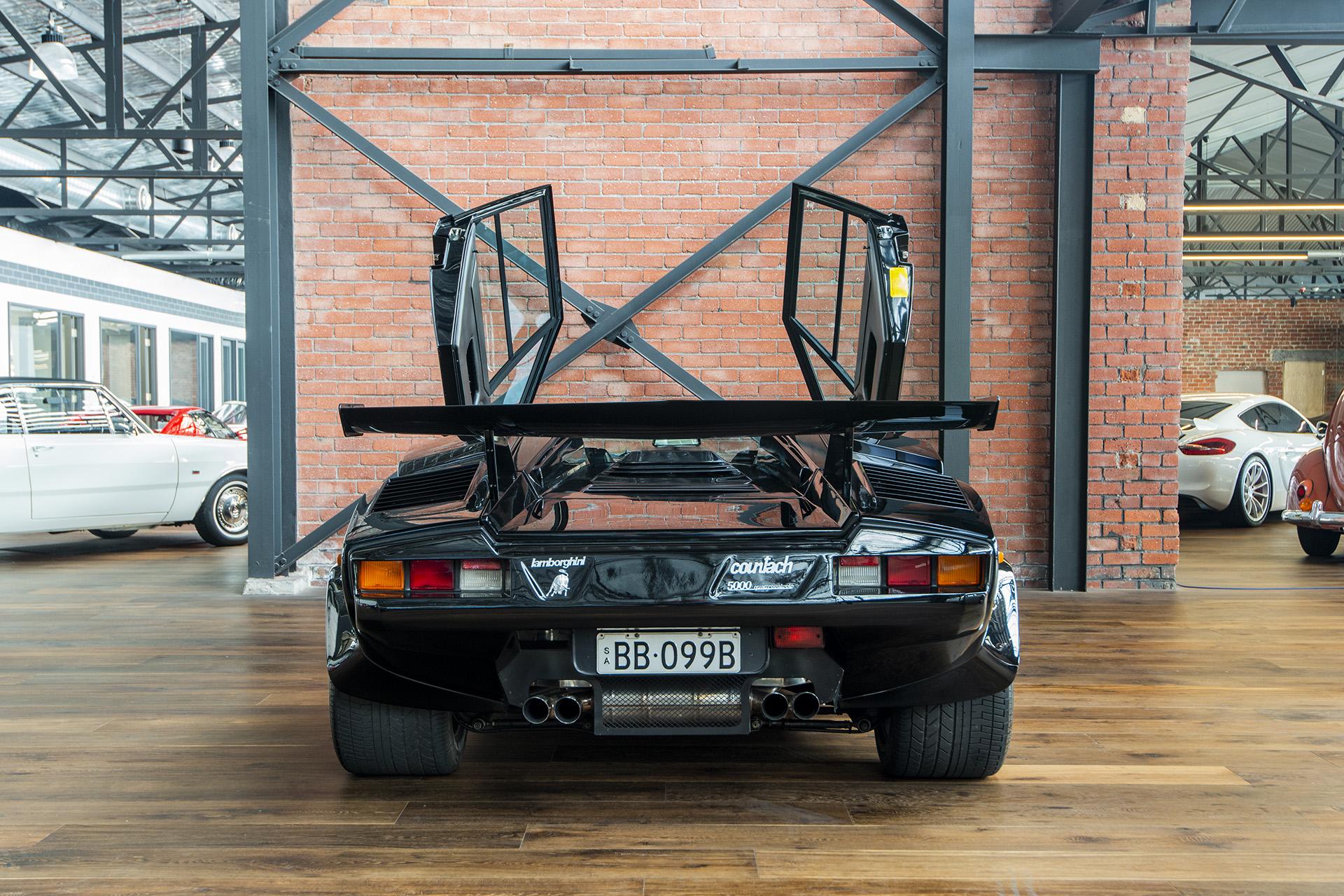 Lamborghini Countach Qv5000 Black 27 Richmonds Classic And