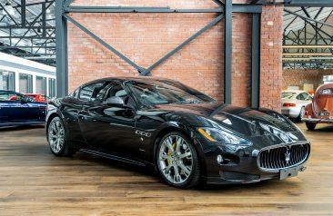 2010 Maserati Granturismo MC Sportline Black