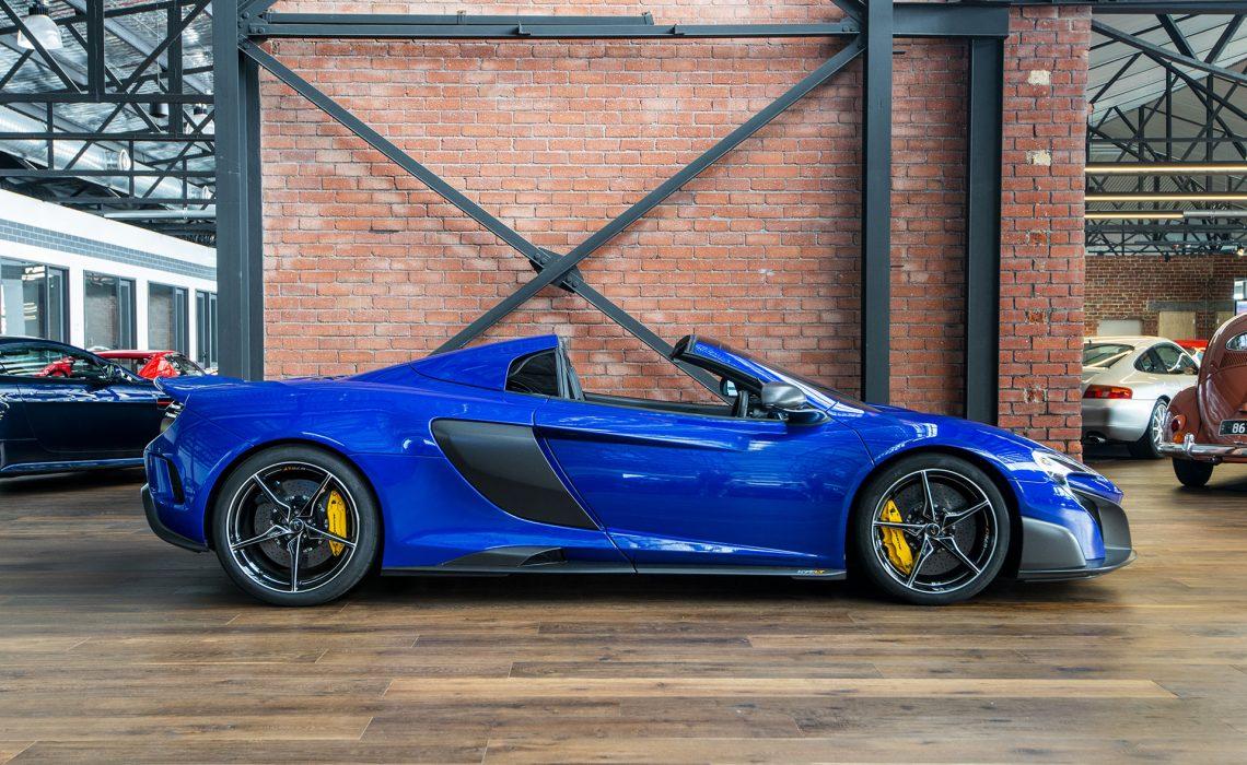 2016 McLaren 675LT Spider Blue