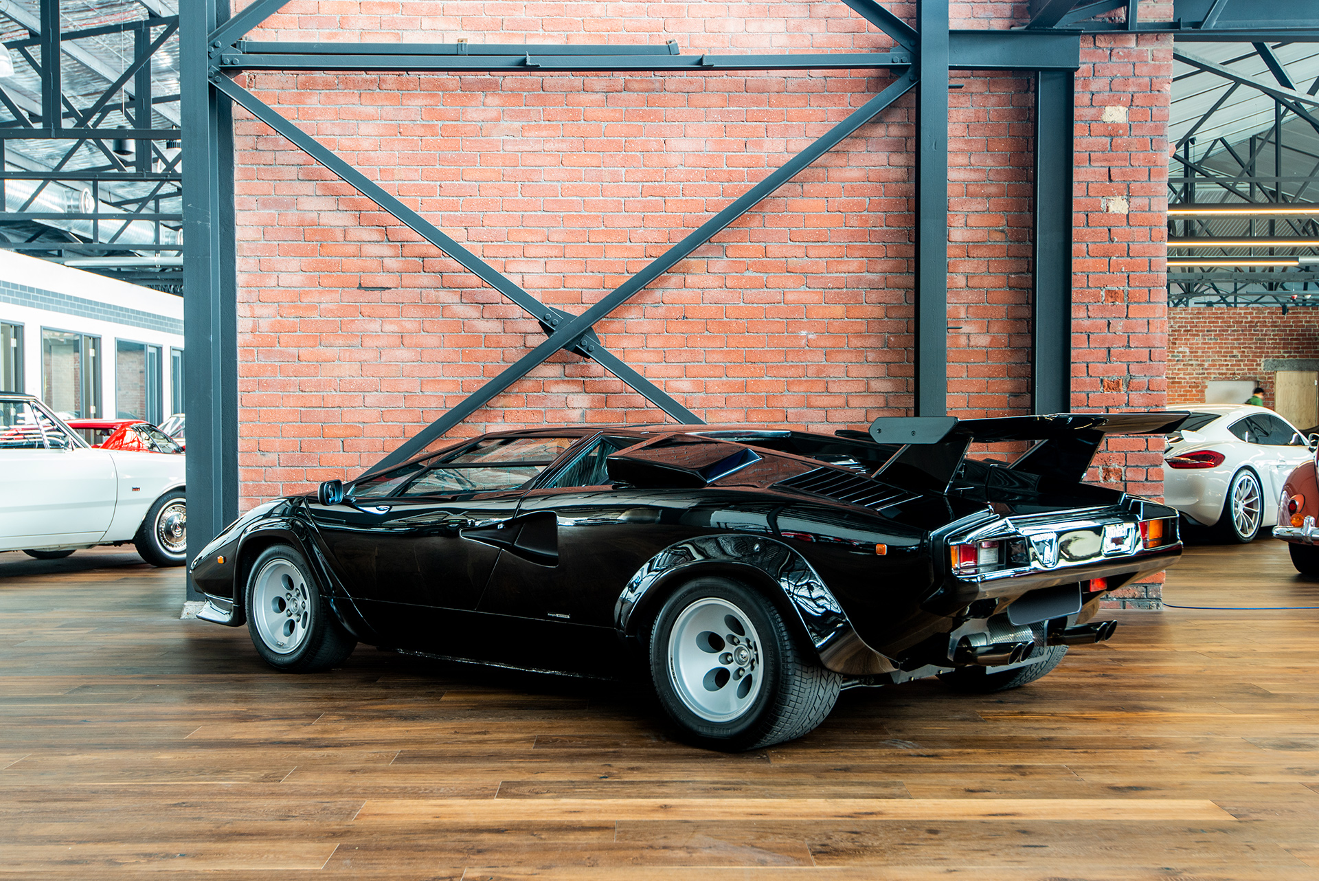 1985 Lamborghini Countach 5000qv black , Richmonds , Classic