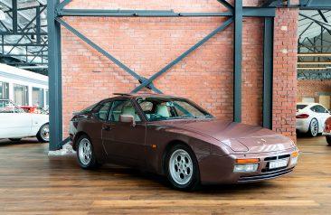1986 Porsche 944 Turbo Mahogany