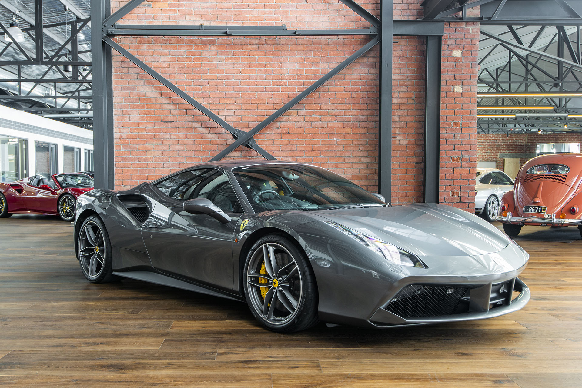 45a6128c01c412 2017 Ferrari 488 GTB Coupe - Richmonds - Classic and Prestige Cars ...